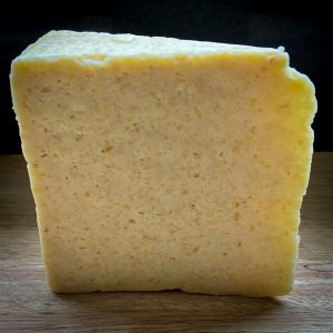 Block of 2 months aged plantbased cheese